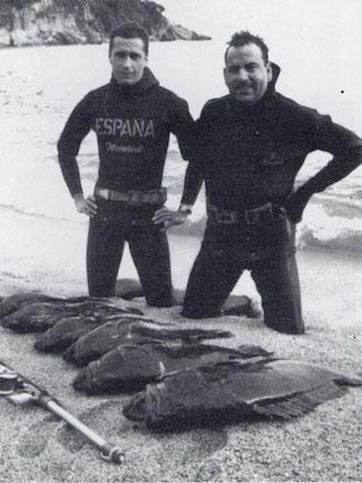 F. Sánchez Madriguera y José Noguera