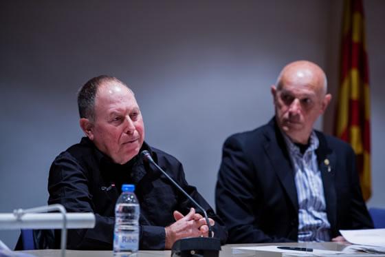 Pep Amengual habló primero tras ver el video del mundial de Cadaqués que ganó en 1973. Entre otros aspectos, recalcó la importancia en su vida deportiva de Josep Noguera, el deportista más destacado de la historia del APS.