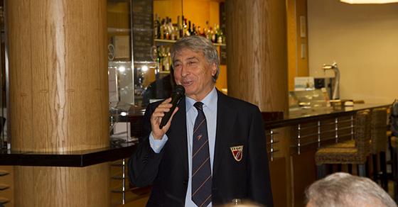 José Antonio, feliz recordando su etapa como presidente del APS